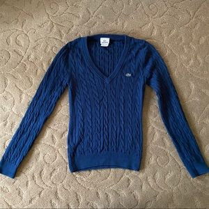 Lacoste Navy Sweater